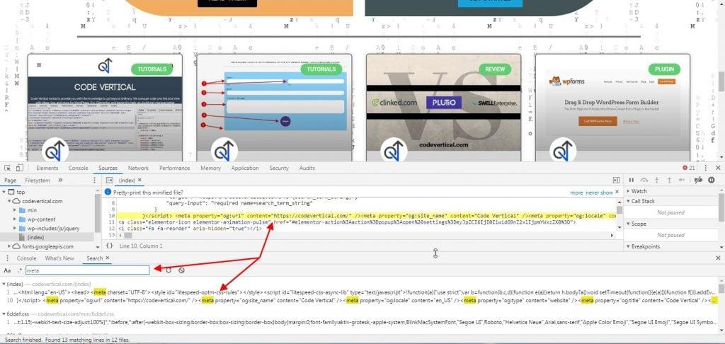 Inspect Tool Search Meta